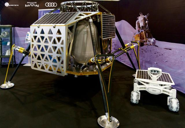 Lander and rover