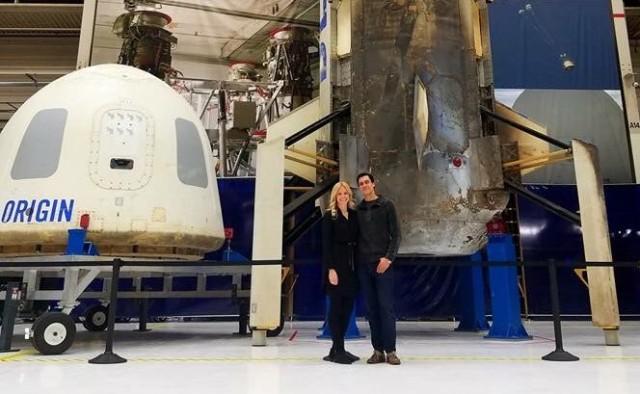 New Shepard spaceship