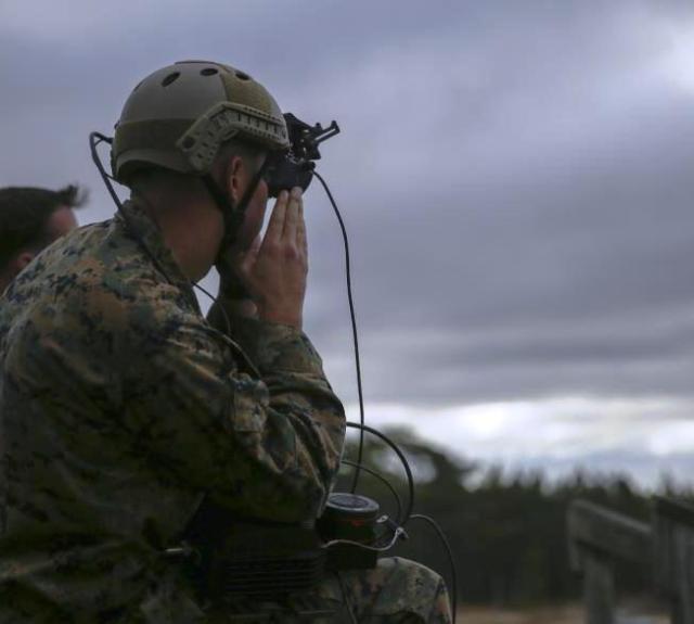 Marine with HoloLens