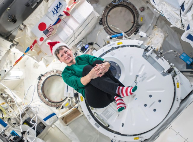 Peggy Whitson on International Space Station