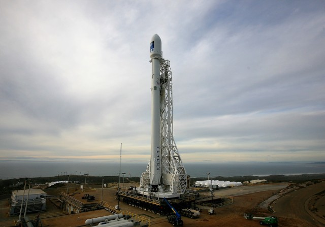 SpaceX Falcon 9 at Vandenberg