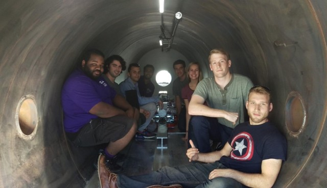 UW Hyperloop team
