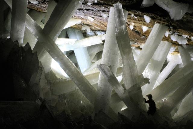 Cave crystals