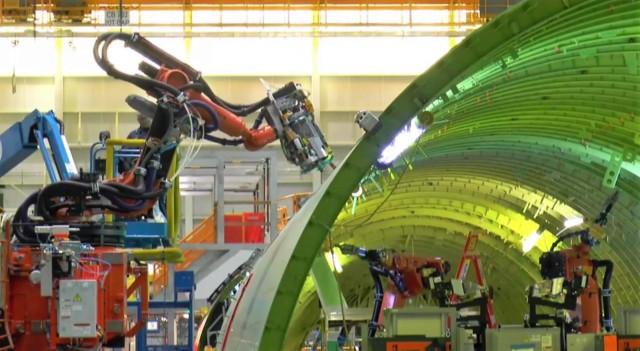 Boeing robots