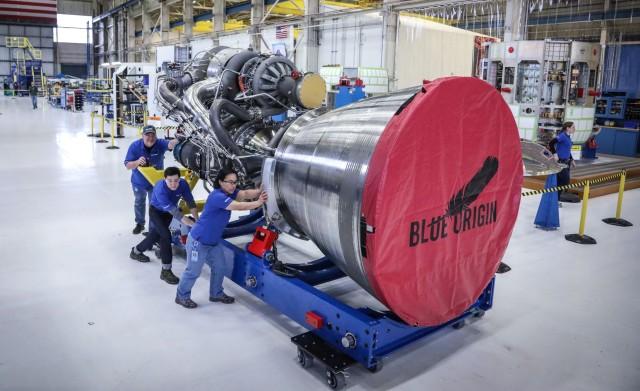 BE-4 engine