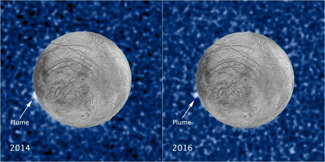Europa plumes