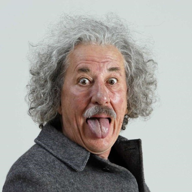 Geoffrey Rush as Einstein