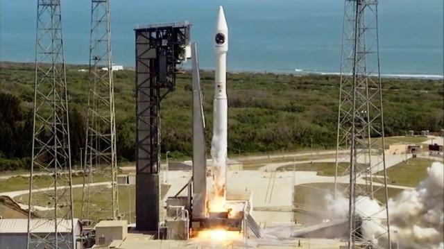 Cygnus-Atlas liftoff