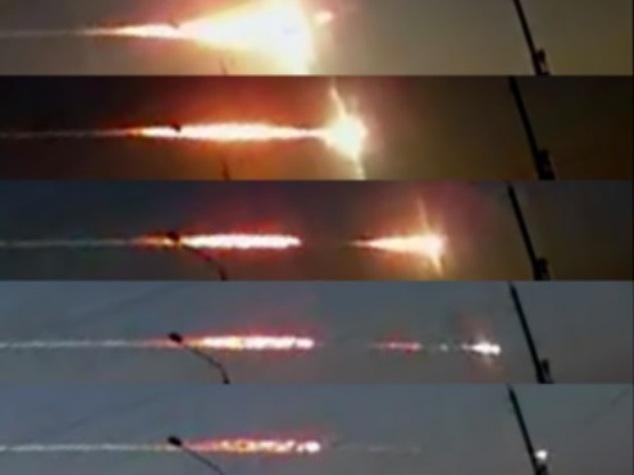 Chelyabinsk meteor blast