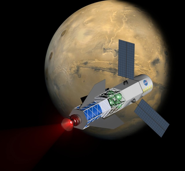 Fusion-driven rocket