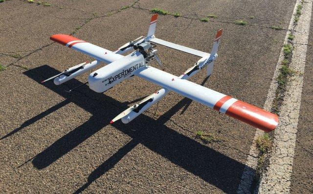 Latitude HQ-40 drone