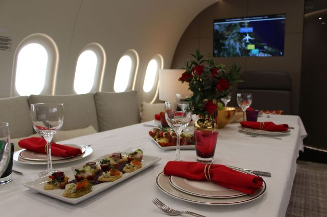 Dining on Dream Jet