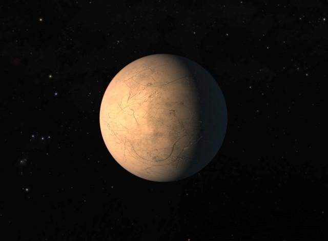 TRAPPIST-1h planet