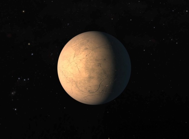 TRAPPIST-1h planet