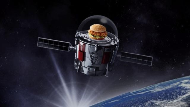 KFC balloon mission