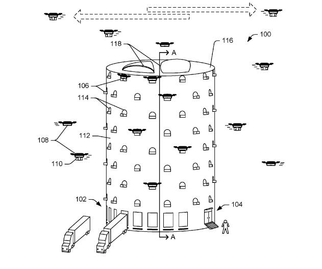 Amazon drone hive