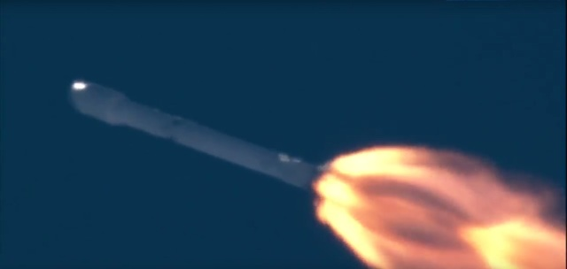SpaceX Falcon 9 ascent