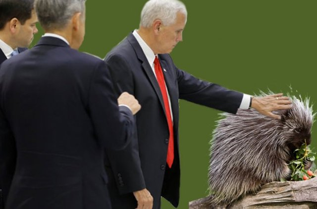 Pence parody picture