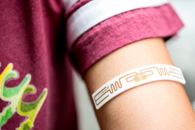 Skin sensor patch