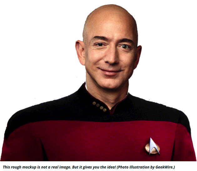 Jeff Bezos photoillustration