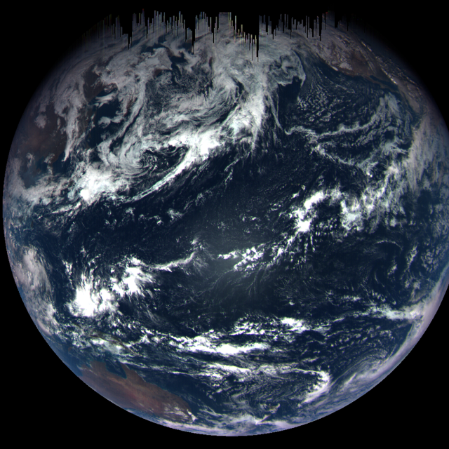 OSIRIS-REx view of Earth