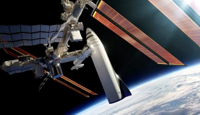 BFR at space station