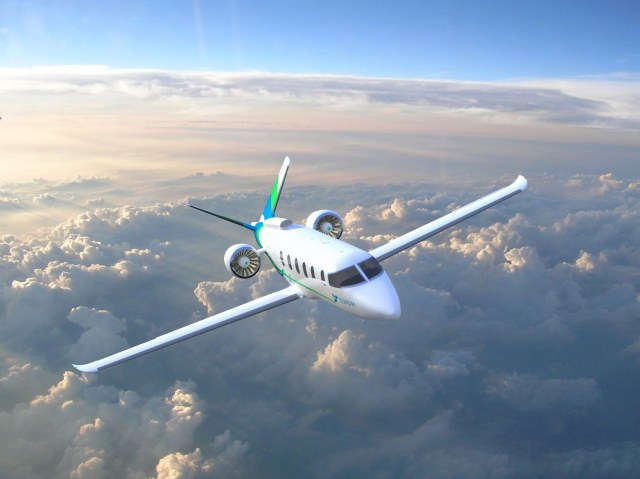 Zunum 2022 airplane