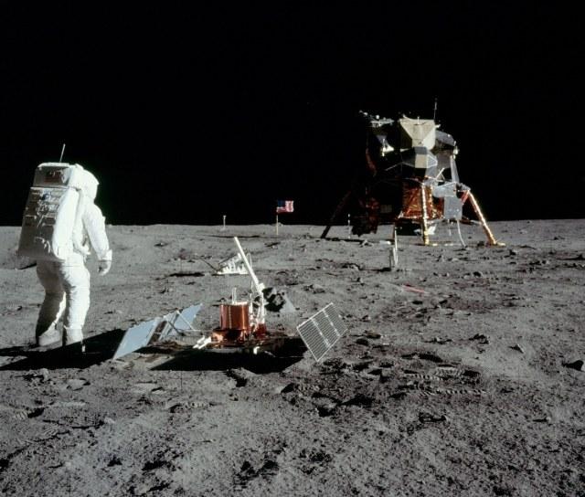Apollo 11 landing site