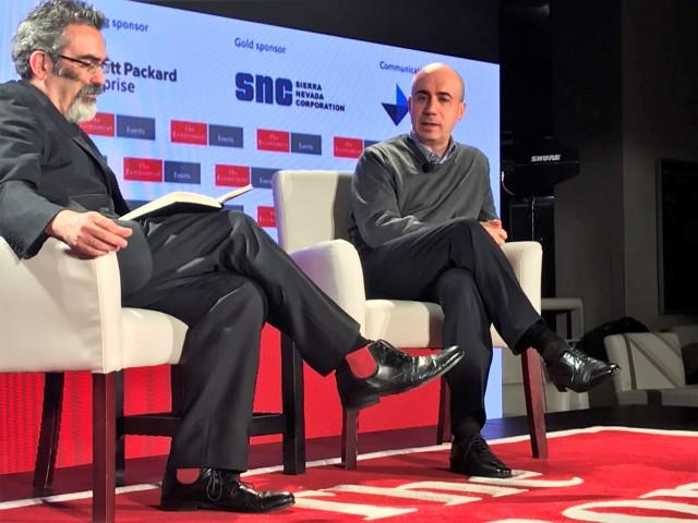 Oliver Morton and Yuri Milner