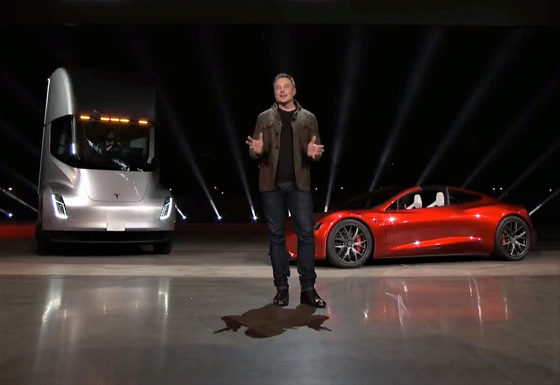 Elon Musk unveils Tesla Semi and a new Roadster | Cosmic Log