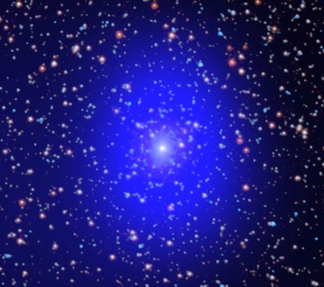 Black hole pair in Andromeda Galaxy