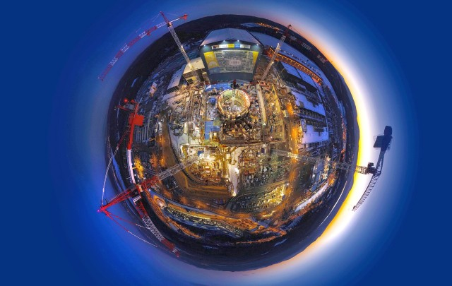 ITER wide-angle view