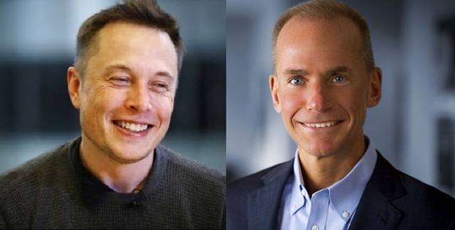 Musk and Muilenburg