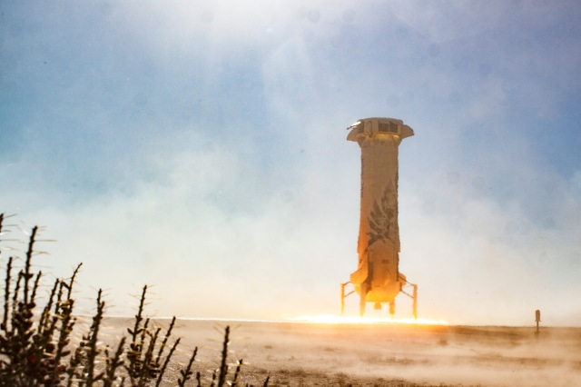 Blue Origin booster