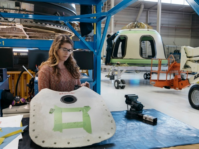 Blue Origin factory