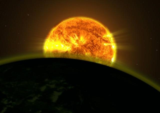 Alien atmosphere