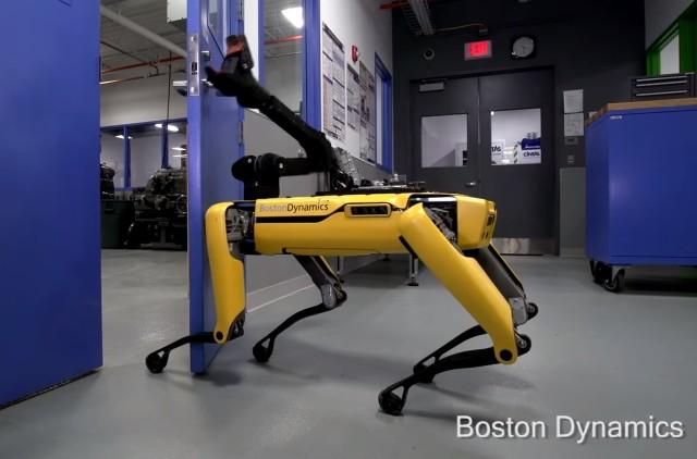 SpotMini robot