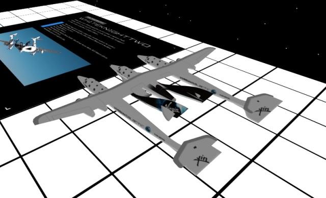 Virtual SpaceShipTwo