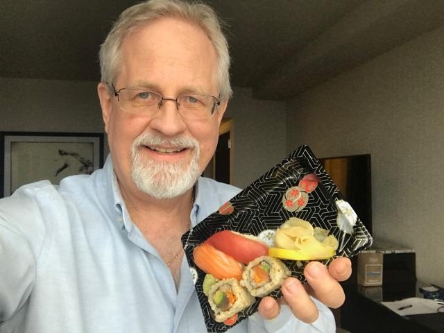 Sushi selfie
