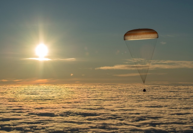 Soyuz descent
