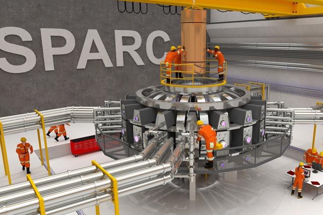 SPARC fusion reactor