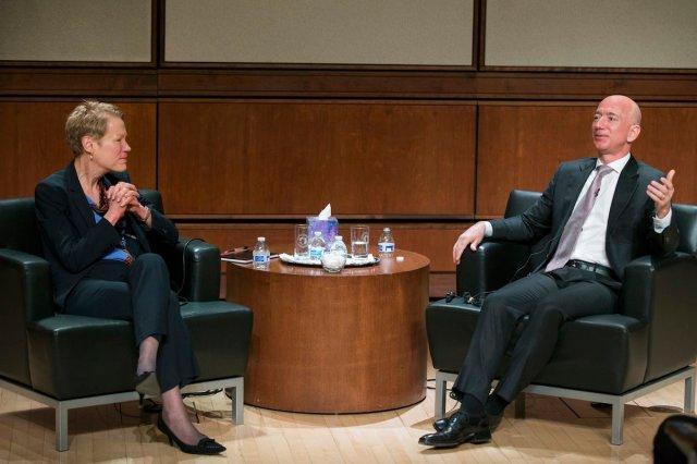 NRO's Sapp and Jeff Bezos