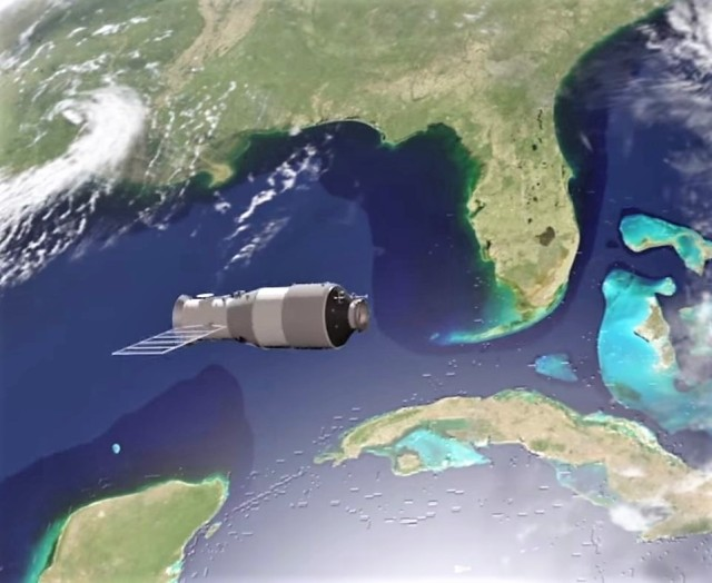 Tiangong-1 space lab