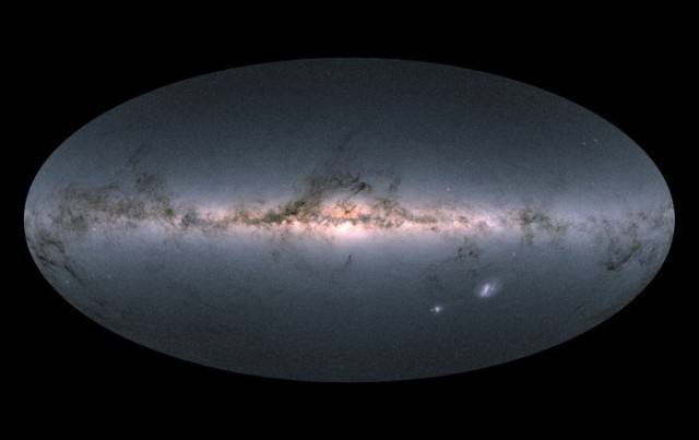 Gaia view of Milky Way