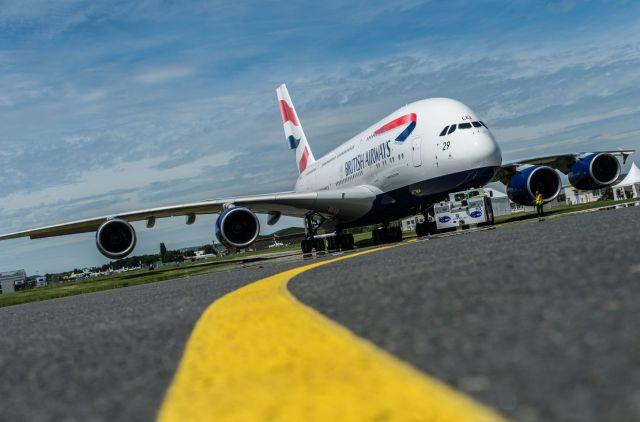 Airbus A380 jumbo jet