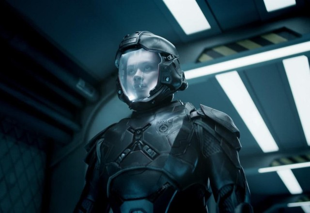 "Frankie Adams on ""The Expanse"""