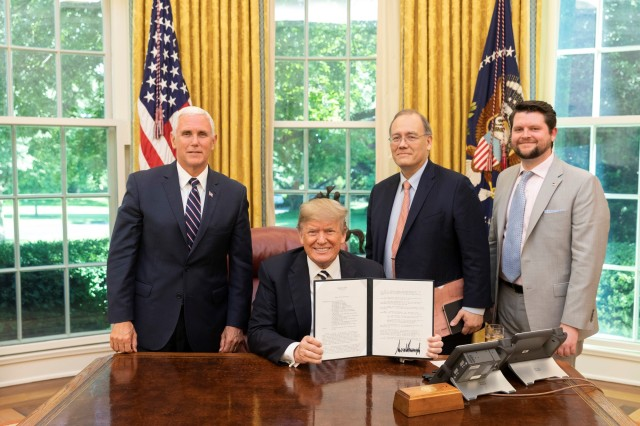 White House signing