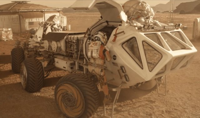 """Scene from """"The Martian"""""""