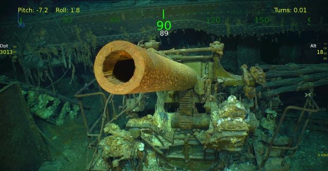 Lexington shipwreck