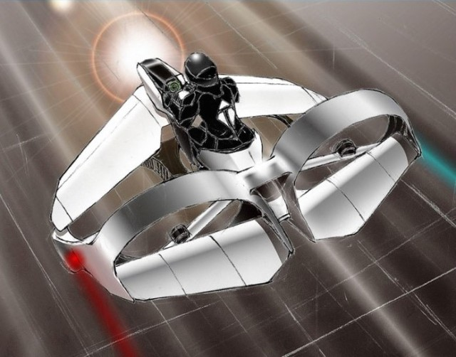 TeTra flying machine